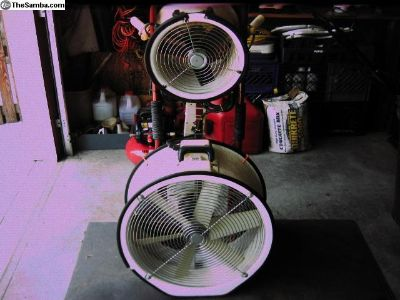 Cooilng Fans & Generator/Charger