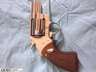 For Sale: Colt Cobra/ Nickel 1975
