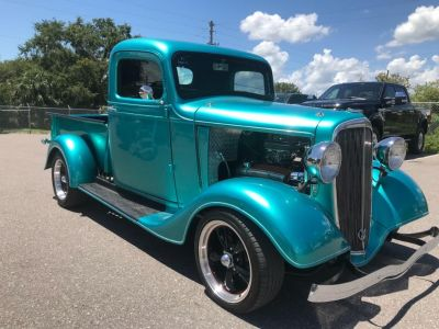 1936 Ford Mustang V6 (Turquoise)