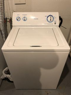 Washer and dryer set fairly used. MUST GO