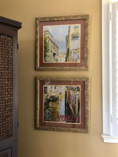 Wall Art, Italy scenes