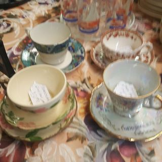 Vintage Coffee Cup and Saucer Sets