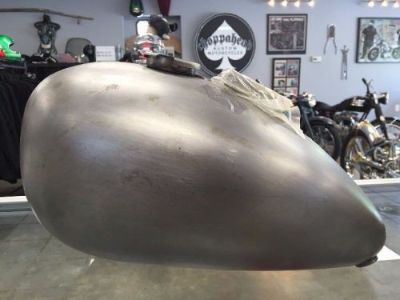 Buy New Wassell style peanut gas tank - chopper, bobber, cafe racer, custom motorcycle in New Bedford, Massachusetts, United States, for US $169.95