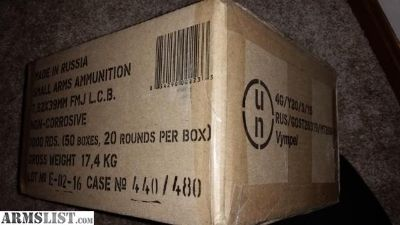 For Sale/Trade: Golden Tiger 7.62x39 ammunition. Golden Tiger 762x39 ammo.