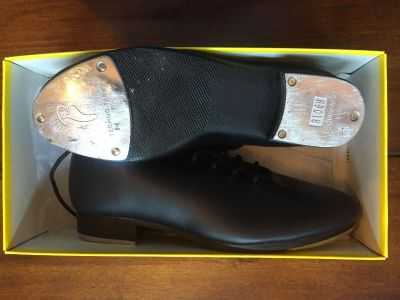 Barely used jazz tap shoes