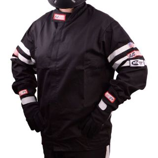 Buy R.J.S. Safety Equipment 200010109 Black Racer 1 Classic Racing Jacket motorcycle in Delaware, Ohio, United States, for US $69.99