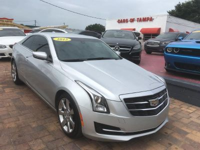 2015 Cadillac ATS 2.0t Coupe 2.0t Coupe (Silver)