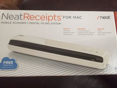 Neat Receipts Portable Scanner for Mac