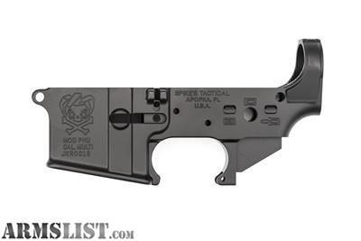 "For Sale: SPIKE'S TACTICAL AR15 ""PHU JOKER"" MULTI CAL LOWER RECEIVER"