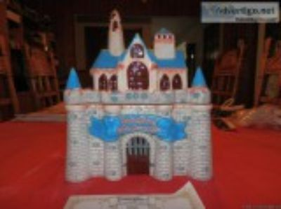 Disneyland th Anniversary Sleeping Beauty Castle Cookie J