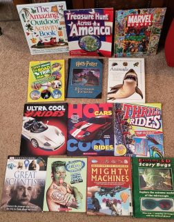13 Fun Books for Boys - Great Condition
