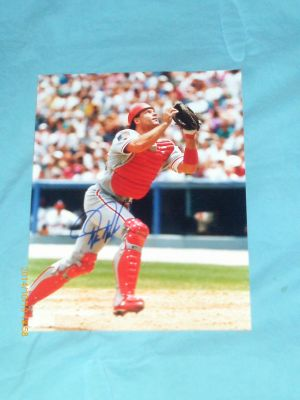 AUTOGRAPHED / SIGNED VINTAGE DARREN DAULTON PHOTO