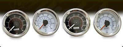 "Sell Two (2) Viair dual needle Electrical Air Pressure Gauge 2"" Dia Black Face 90080 motorcycle in Tallmadge, Ohio, US, for US $81.85"