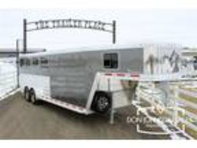 2019 Featherlite 8541 4 Horse GN 7' H, 7' W, Rear & Front Tack 4 horses