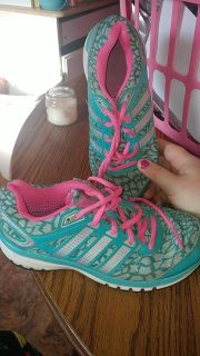 Girls Adidas sneakers size 2