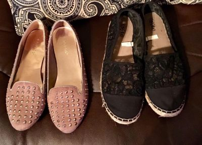 Cute shoes size 6 1/2 and 7