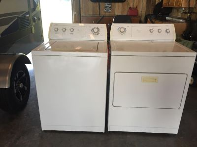 Whirlpool Waher and Dryer