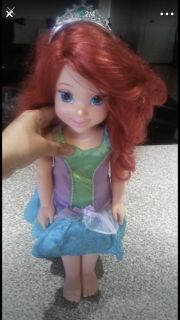 Talking Ariel Doll like new