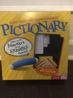 Pictionary kids game. $4 Gtown PPU