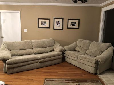 Couch and love seat!