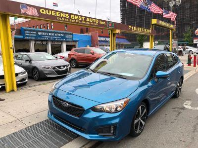 2017 Subaru Impreza 2.0i Sport 5-door CVT (Island Blue Pearl)