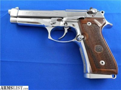For Sale: Beretta 92 FS Custom Polished Stainless Steel Finish