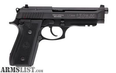 For Sale: Factory new Taurus PT92 9mm BL FS 17RD+1 with rail