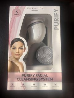 purify facial cleansing brush new