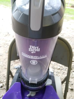 Dirt devil power max pet vac