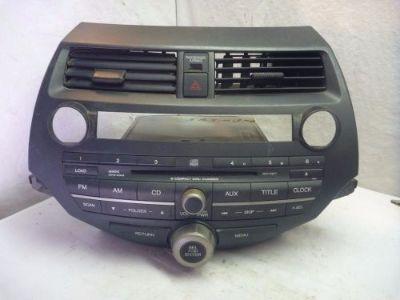 Find 08-12 Honda Accord Radio 6 Cd Mp3 XM & Code 39101-TE0-A311 3BA4 JS4031 motorcycle in Williamson, Georgia, United States