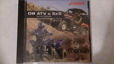 Purchase 08 Yamaha ATV & Side x Side PC Disc Service Manual *NEW* motorcycle in Richlandtown, Pennsylvania, US, for US $19.99