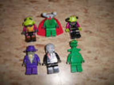 LEGO Minifigure Space Police lot of 6 alien villains Frenzy