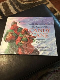 The Ledgend of the Candy Cane Hardback book $2