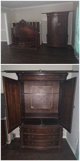 Gallery Furniture Solid Wood bed room set
