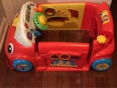 fisher price laugh & learn car