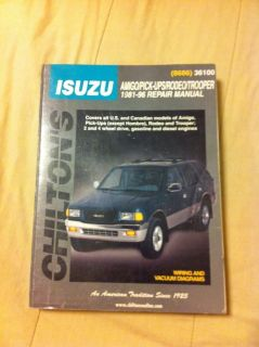 Isuzu repair manual
