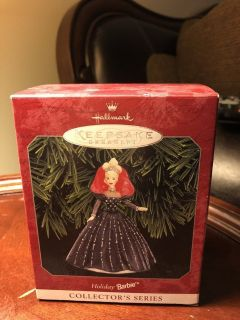 Hallmark keepsake ornament holiday Barbie