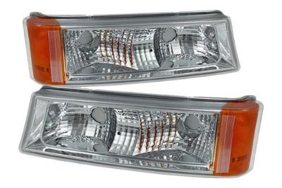 Sell Spyder ZOCS03C - 03-06 Chevy Silverado Clear Driving Bumper Lights 2 Pcs 1 Pair motorcycle in Rowland Heights, California, US, for US $65.10