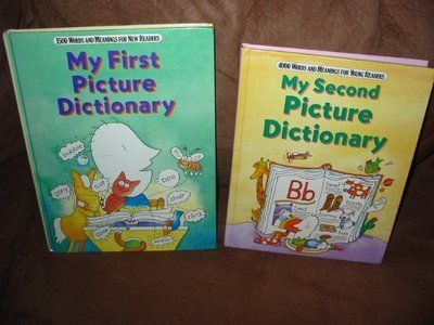 My First & Second Picture Dictionary By S. Foresma