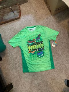 NWT Ninja Turtles Shirt size 14/16