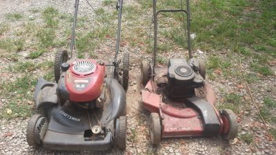 Craftsman & Toro Push Mowers