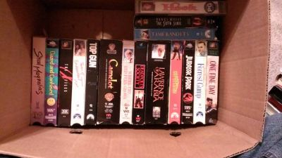 Bunch of VHS tapes (Lafayette)