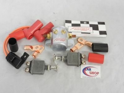 Purchase FASTRONIX SOLUTIONS 201-305 REMOTE MASTER DISCONNECT SWITCH KIT NHRA DRAG RACING motorcycle in Moline, Illinois, United States, for US $99.95