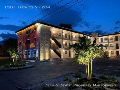 Newly Renovated Nordica Flats 2 BR 1 Bath Apartment - Close to Downtown St Pete