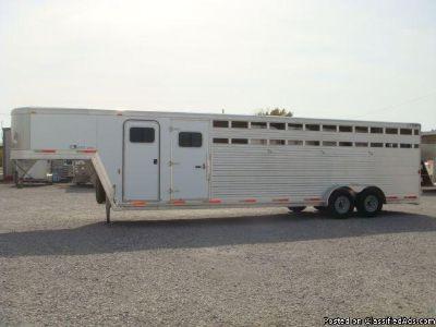 2001 Exiss CXT600 6 Horse trailer Slant GN