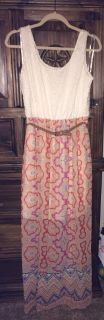 Long colorful Spring dress