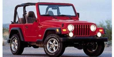 1997 Jeep Wrangler SE (Red)