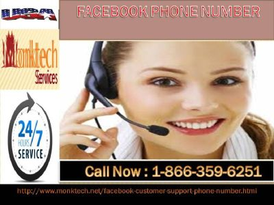 Dial Facebook phone number 1-866-359-6251 to generate FB fan page