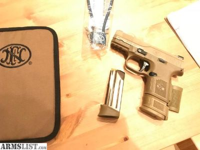 For Sale/Trade: FNH 9mm FDE Compact FNH-USA FNS9-C FN Herstal