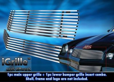 Buy Fits 78-81 Chevy Camaro 304 Stainless Steel Billet Grille Combo motorcycle in Ontario, California, United States